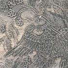 AN OCTAFOIL SILVER 'TWIN BIRDS' DISH