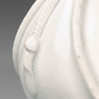 A SMALL WHITE PORCELAIN FLASK