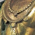 A GILT BRONZE FIGURE OF THE BODHISATTVA GUANYIN