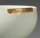 A QINGBAI GLAZED PORCELAIN FUNNEL