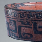 AN ARCHAIC LACQUERED WOOD STEM-DISH (DOU)