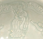 A QINGBAI GLAZED PORCELAIN BOWL