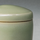 A PLAIN YAOZHOU CELADON COVERED BOX