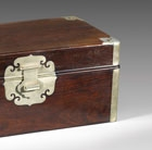 A ZITAN DOCUMENT BOX