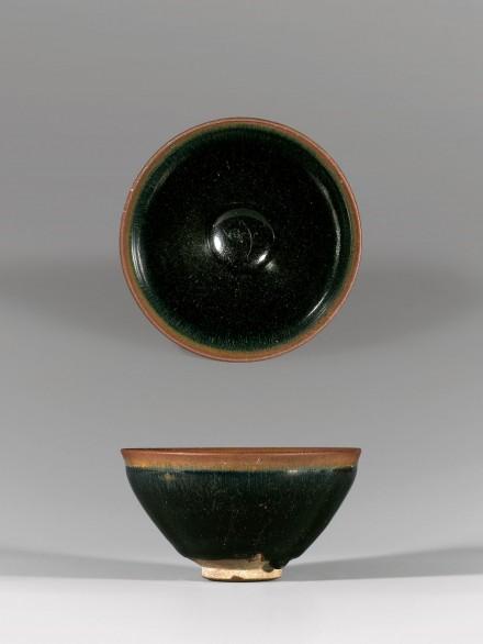 A JIANYAO 'HARE'S FUR'-GLAZED TEA BOWL