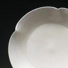 A DINGYAO WHITE PORCELAIN FLOWER-FORM DISH