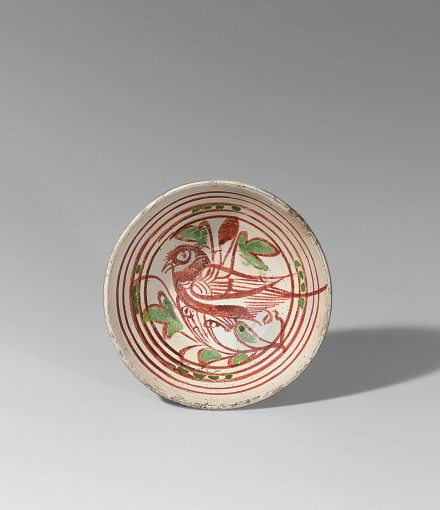 A CIZHOU POLYCHROME-PAINTED BOWL