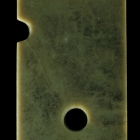 A GREEN JADE CEREMONIAL BLADE (GUI)