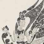 INK RUBBING: APSARA