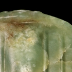 A NEOLITHIC JADE BIRD FORM PENDANT