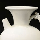 AN EARLY DINGYAO WHITE PORCELAIN EWER