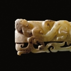 AN ARCHAIC JADE ORNAMENTAL PLAQUE (PEI)