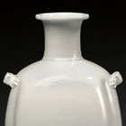 A XINGYAO WHITE PORCELAIN BOTTLE-VASE