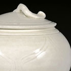 A DINGYAO WHITE PORCELAIN JAR AND COVER